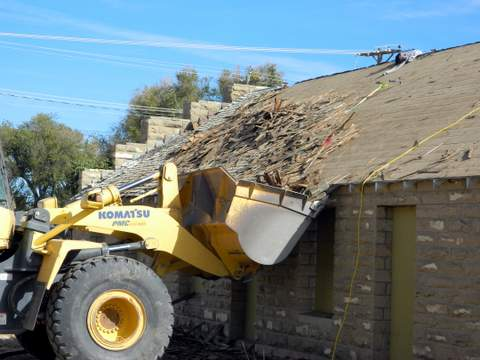Old Shingles Coming Off