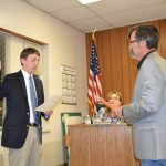Oaths of Office for Stagner, Riley on Lamar City Council