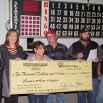 Two Shot Makes Annual Hospice Donation