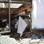 Restaurant Crash and Truck Rollover...Traffic Accidents for Lamar