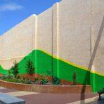 Artwork for Shore Arts Center Pocket Park Nearing Completion