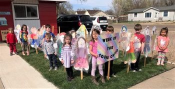 Little People's Pre-School Observing Week of the Young Child