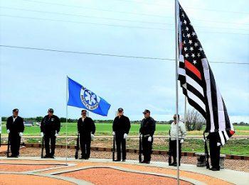 Memorial Day Observance Held at Tribute Memorial