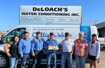 Donuts and Water…Lamar Chamber Pays a Friday Visit
