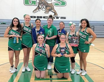 Granada Cheerleaders Honored for Excellence